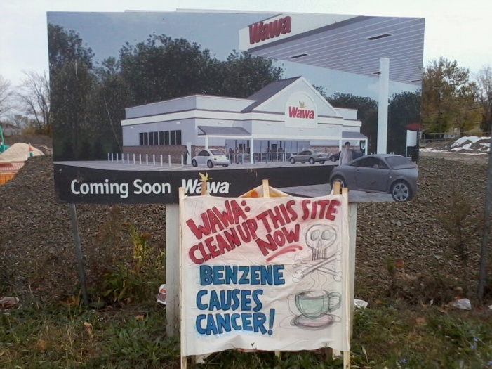 Wawa: Clean Up This Site Now!