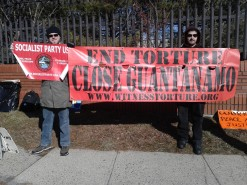 Jersey Shore Demonstration to Close Guantanamo & End Torture